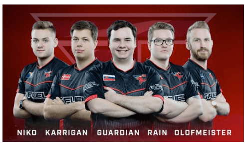 FaZe Clan EL Major Boston 2018