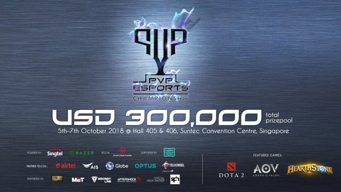 PVP Esports Championship Singapore Qualifiers DOTA 2