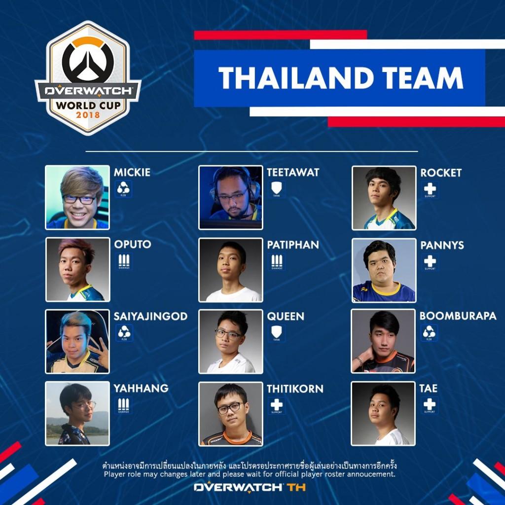 Overwatch Thailand Team