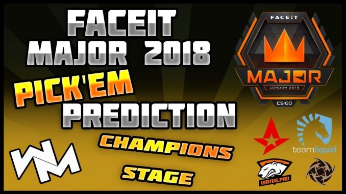 FACEIT Major London 2018 Champions Stage