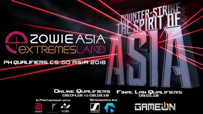 eXTREMESLAND ZOWIE Asia CSGO 2018