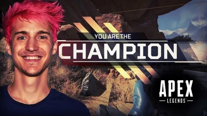 Ninja แชมป์ Apex เลกแรก