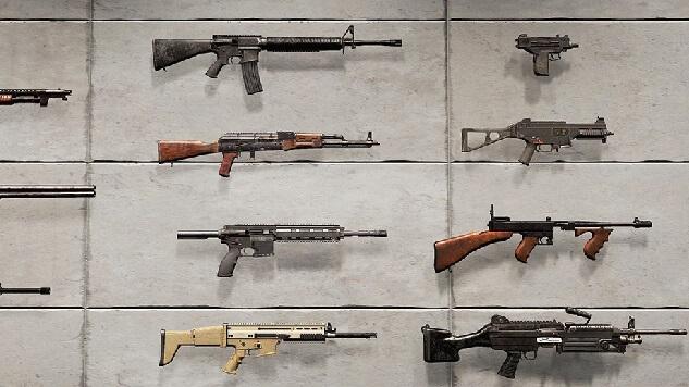 5 สุดยอดอาวุธในเกม PUBG MOBILE