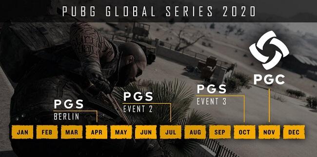 PUBG Global Series in 2020